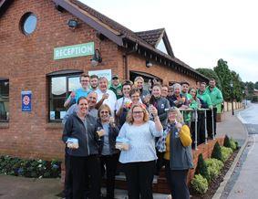 Cofton Holidays celebrates Visit Devon award win